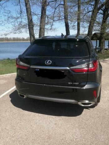 Naudoti 2016 Lexus RX350 full