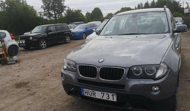 Naudoti 2008 BMW X3 full
