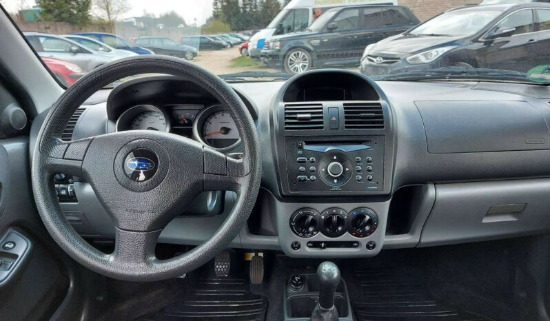 Naudoti 2004 Subaru G3X Justy full